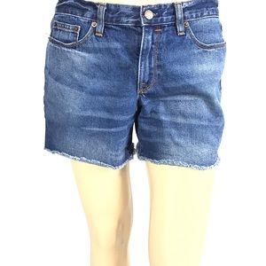 ❤️J. Crew Denim Shorts Size 28 Blue